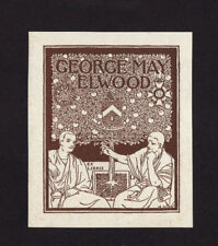 EXLIBRIS,102b - Ellis Harvey - Jugendstil, 1898
