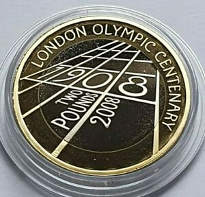 Royal Mint - 2008 London 1908 Olympics Proof £2 - Two Pounds Coin