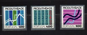 PORTUGAL #1167-1169 MNH PRODUCTIVITY CONFERENCE '72