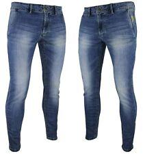 Jeans uomo slim fit elasticizzato tasca america casual 44 46 48 50 52 54 RDV