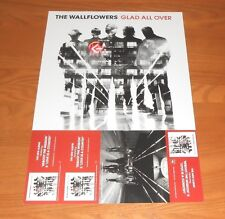 The Wallflowers Glad All Over 2-Sided Flat Promo Poster 12 x 18