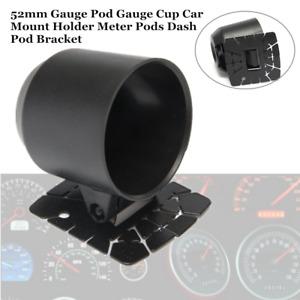 52mm Gauge Pod Gauge Cup Car Mount Holder Strong Meter Pods Dash Pod Bracket Kit