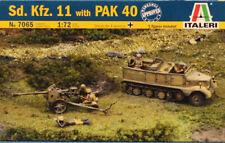 Italeri 1:72 Sd.Kfz.11 w/ Pak 40 Plastic Model Kit #7065