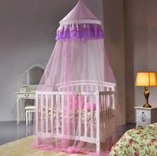 Girl Lace Round Dome Princess Bed Mosquito Netting Mesh Bedding Net Canopy US
