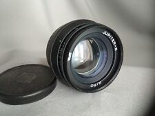 Jupiter-8 Lens USSR  2/50 mm M39 for Zorki Leica + adapter ring M42