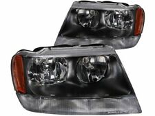 Fits 1999-2004 Jeep Grand Cherokee Headlight Set Anzo 15525ZW 2000 2001 2003 200