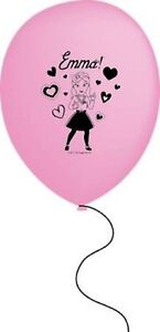 The Wiggles Emma Pink Latex Balloons 30cm Pack of 6 - The Wiggles Party Supplies