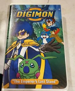 Digimon Vol. 7: The Emperors Last Stand (VHS, 2001)