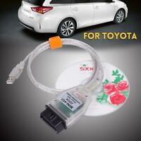 Suitable For TOYOTA Techstream TIS V13 MINI VCI USB OBD2 Car Diagnostic Cables