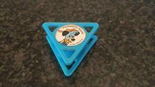 Vintage 1990s Kellogg's Huckleberry Hound Rubber Ink Stamp Cereal Rare!
