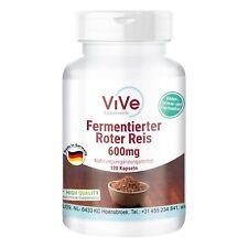 Fermentierter Roter Reis Extrakt 600mg - Monacolin K 4,5mg | ViVe