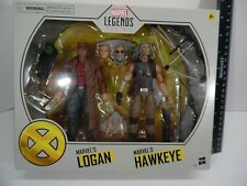 "Marvel Legends Oldman Logan Hawkeye 2 pack deluxe set 6"" Figure"