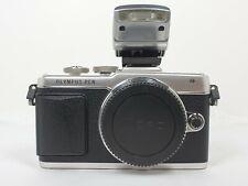 Olympus PEN E-PL7 Micro 4/3 Fotocamera Digitale-Argento (Solo Corpo)