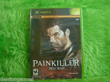 xbox PAINKILLER HELL WARS Action Adventure Game Microsoft NTSC American SEALED