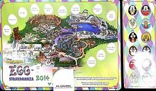 Disneyland Resort California Adventures 2014 Eggstravaganza Map Easter Hunt