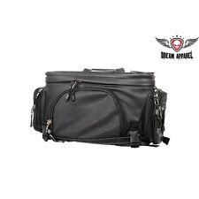 Medium Size PVC Motorcycle Sissy Bar Camera Bag