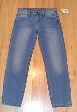 NEW Joe's Jeans - Women's  Lottie Slim Straight  Crop  Jeans size 25 Blue Denim