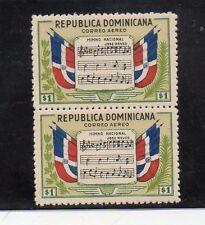Republica Dominicana Musica Banderas Himno Nacional año 1946 (DD-241)