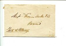 Prince Frederick Duke of York & Albany Royalty Signed Autograph