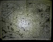[NORD-PAS-de-CALAIS - ARRAS - BETHUNE - LENS – HESDIN] Carte d'Artois. 1746.