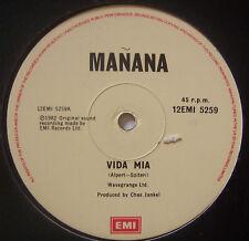 """MANANA ~ Vida Mia ~ 12"""" Single"""