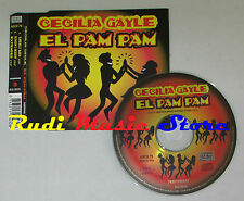 CD Singolo CECILIA GAYLE El pam pam 1998 italy NEW MUSIC  mc lp dvd vhs S5