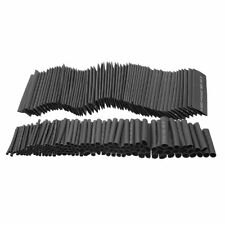 381pcs 21 Heat Shrink Tubing Tube Sleeving Wire Cable 8 Sizes Black