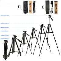 "46"" Professional Camera Tripod Stand Holder Mount for iPhone/Samsung Cell Phone"