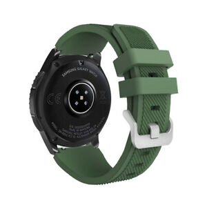 For Samsung Galaxy Watch 3 45mm 46mm Gear S3 Silicone Sport Band Strap 22mm