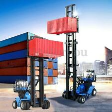 1:50 Scale Diecast Empty Container Stacker Forklift Truck Cars Model Toys Gift