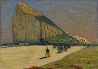 James Wilson Morrice: Gibraltar. Fine Art Print/Poster