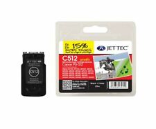 PG-512 Black Remanufactured Ink Cartridge by JetTec for Canon C512