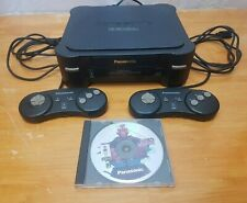 PANASONIC REAL 3DO FZ-1 Console System 2 Controllers Super Street Fighter 2