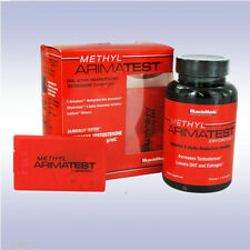 MUSCLEMEDS METHYL ARIMATEST (120 CAPSULES + 60 SUBZORB TABS) test boost booster