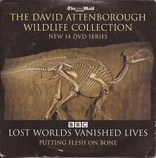 David Attenborough - LOST WORLDS VANISHED LIVES - PUTTING FLESH ON BONE --- DVD