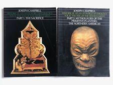 Joseph Campbell Historical Atlas of World Mythology Lot of 2 Seeded Earth