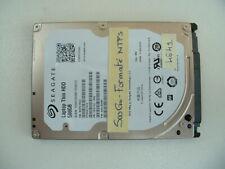 Disque dur SATA SEAGATE 500Go 2,5 pouces pour portable (4641)