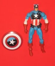 "Marvel Captain America 4"" Action Figure Loose 2010 Comic Hasbro Universe Avenger"