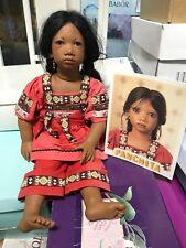 Annette Himstedt Puppe Panchita 67 cm. Top Zustand. Sehr selten.