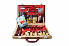 Fruit Vegetable Garnishing Cutting Slicing Culinary Carving Tool Set 80 Piece
