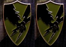 O.D. Colors ASA Hat Pin Army Security Agency LFCF NEW ITEM! OD Green and Black