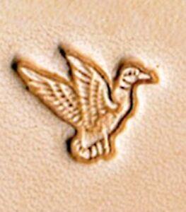 Ivan Mini 3D Leather Stamp - Duck (8500-02)