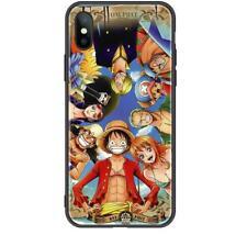 One Piece Anime Für iPhone 7/8 11 PRO X/XS XR Max Case Hülle Schutzhülle Glas