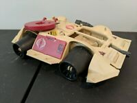 1989 Hasbro G.I Joe ARAH Cobra Rage Tank! Incomplete! For Parts! See Pics!