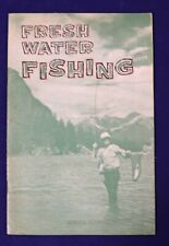 Freshwater Fishing Maury Delman Fly Spinning Vintage Booklet