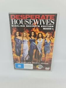DESPERATE HOUSEWIVES Season Four DVD Region 4 TV Show VERY GOOD CONDITION
