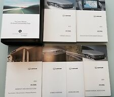 2010 Lexus HS 250h Owners/Operator Manual + Navigation Book + Case