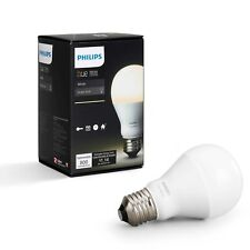 Philips Hue White A19 Single Dimmable LED Bulb 800 Lumens