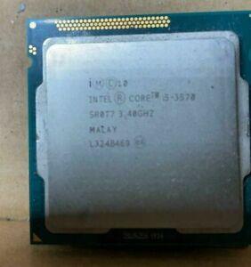 Procesador Intel core i5 3570 (4 c / 4 h)  3,8 GHz  para placas con zocalo 1155