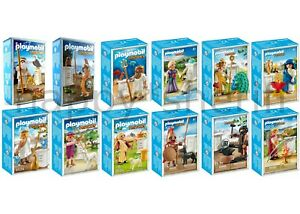 Playmobil All 12 Greek Gods 9149 9150 9523 9524 9525 9526 70213 to 70218 Boxed